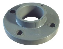 фланец единичен PVC-U подсилен 2 1/2 цола