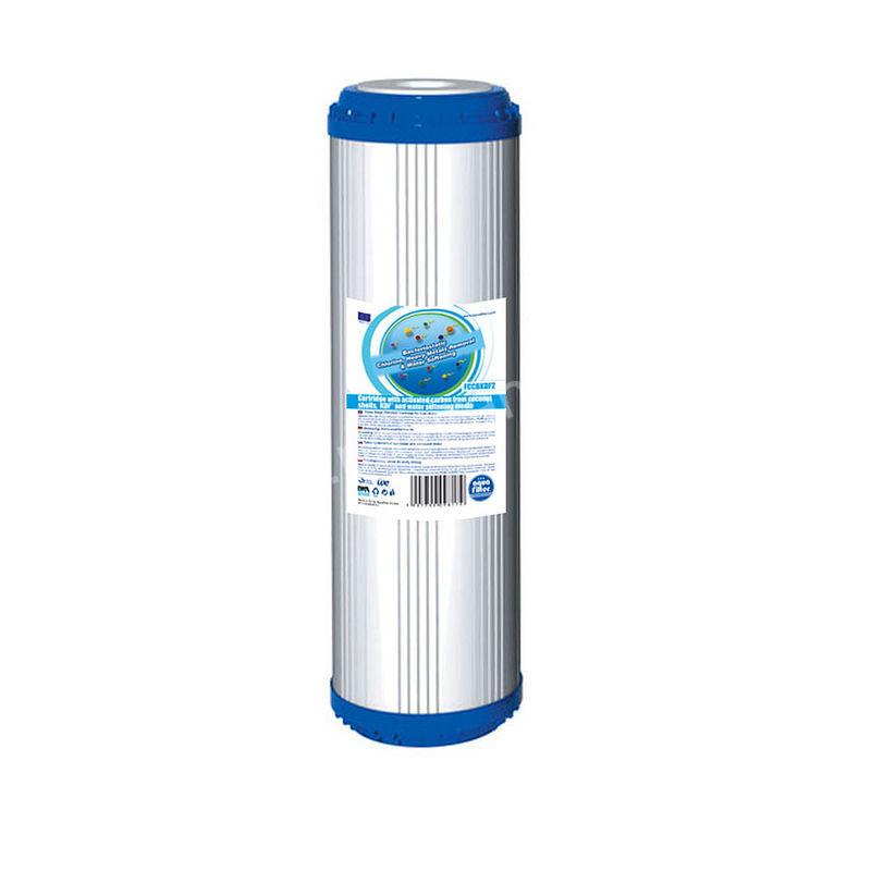омекотяващ карбонов филтър за вода