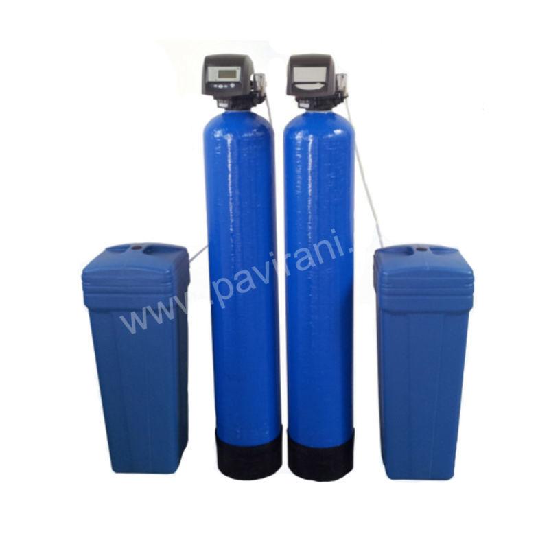 двуколонен омекотител за твърда вода 2 х 75