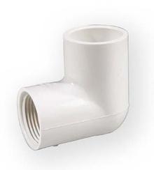 коляно с вътр. резба PVC-U 3/4 цола