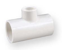 тройник намалител студена вода PVC-U 2x2x1/2 цола