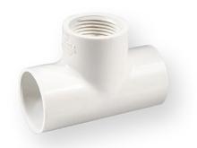 тройник редуциран студена вода PVC-U 1 цол