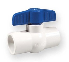 спирателен кран студена вода PVC-U 1 цол