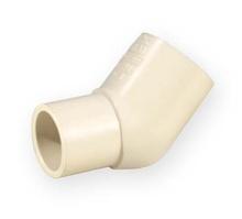 коляно нипел 45 PVC-C 1/2 цола