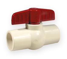 спирателен кран сферичен PVC-C 1/2 цола