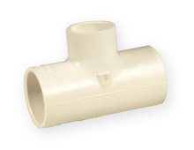 тройник редукция PVC-C 3/4 x 1/2 x 1/2 цола