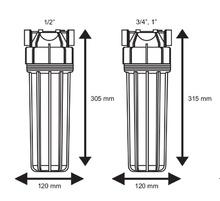 филтърна колона 10 инча размер без планка