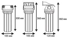 филтърни колони размери