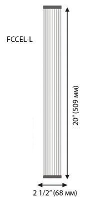 филтър хармоника 2 инча размери