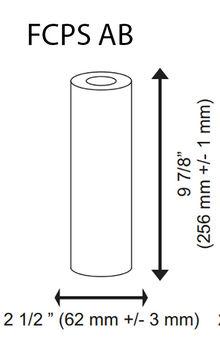 антибактериален филтър за вода размери