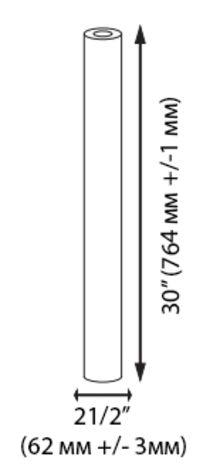 механичен филтър 30 инча размери