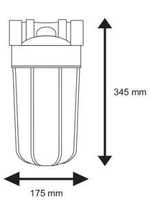 филтърна колона размери
