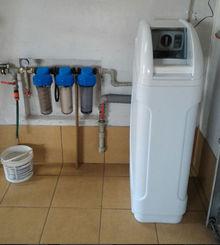 омекотяване на твърда вода монтаж