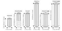 филтри за омекотяване на вода размери
